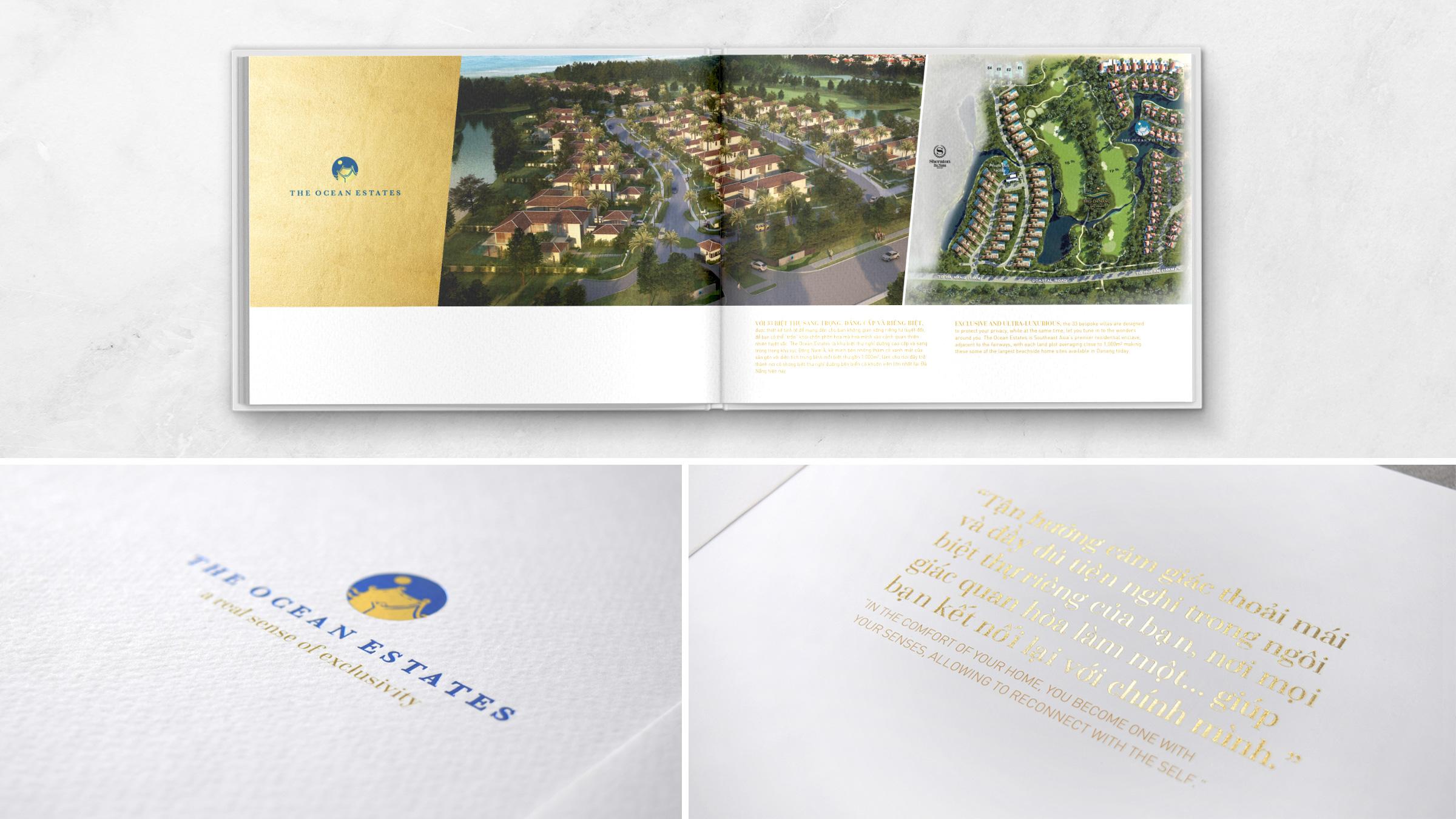 Brochure design property development