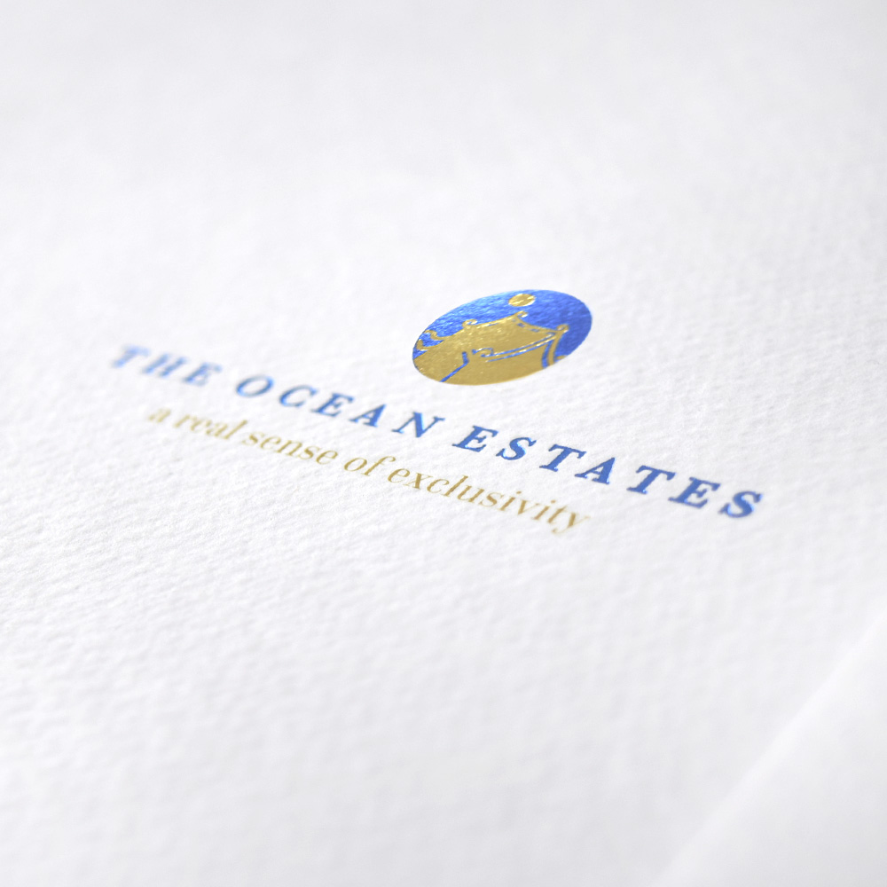 The Ocean Estates Brochure Design