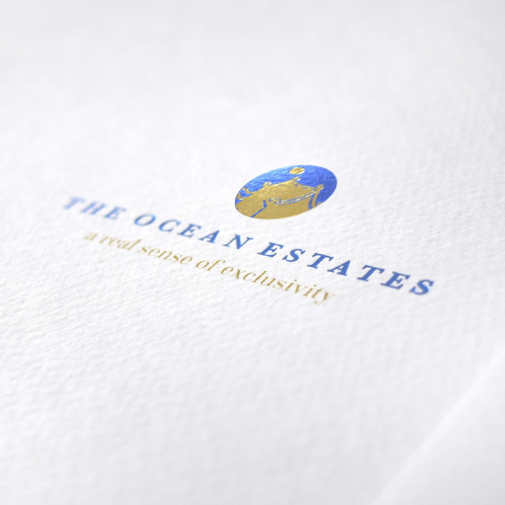 The Ocean Estates Brochure Design