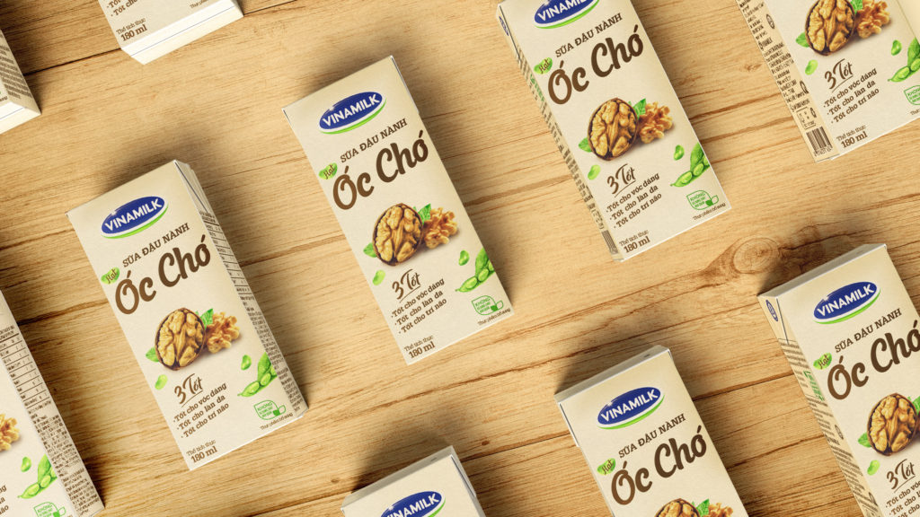 Packaging Design, The Circle, Branding Agency, Vietnam, Asia, Soya Milk