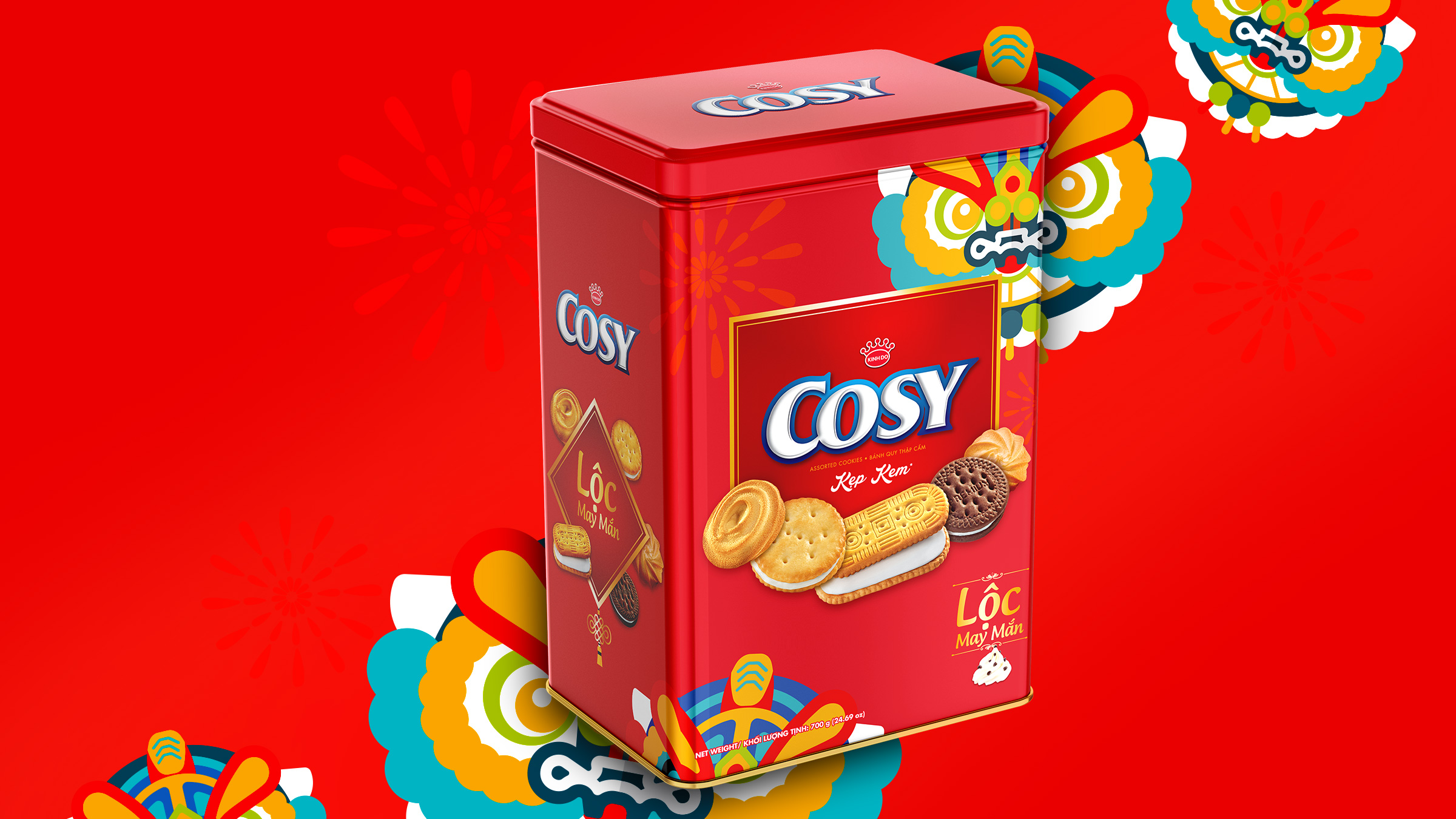 packaging design Cosy Tet