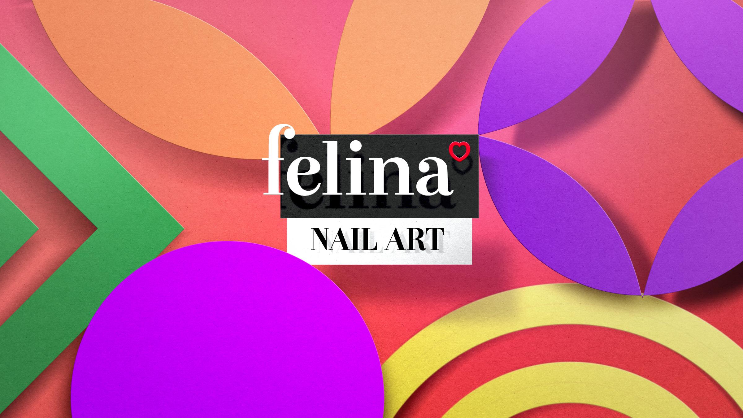 packaging design Felina Nail Art