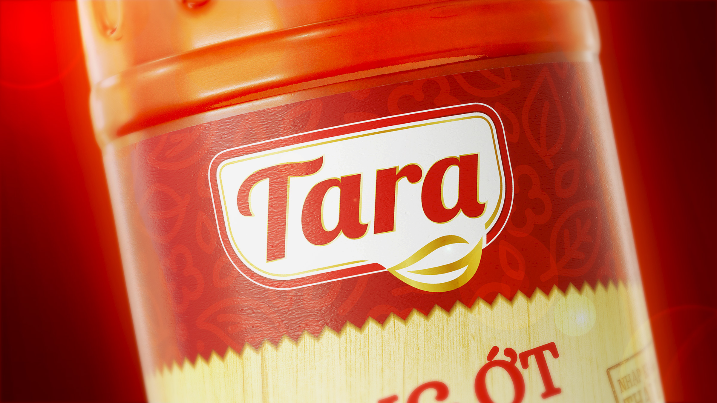 packaging design Tara Chili Sauce