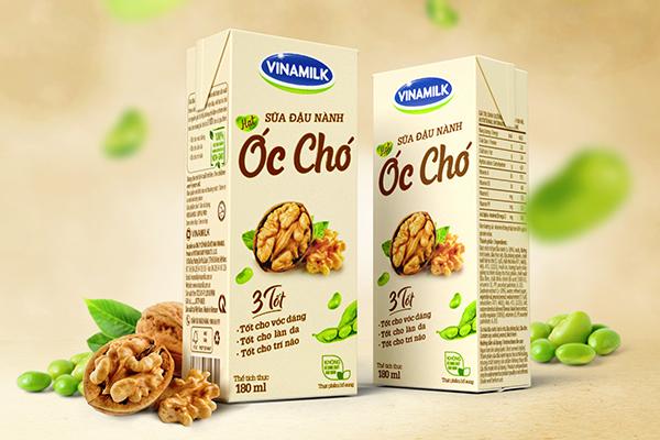 Packaging Design, The Circle, Branding Agency, Vietnam, Asia, Soya Milk