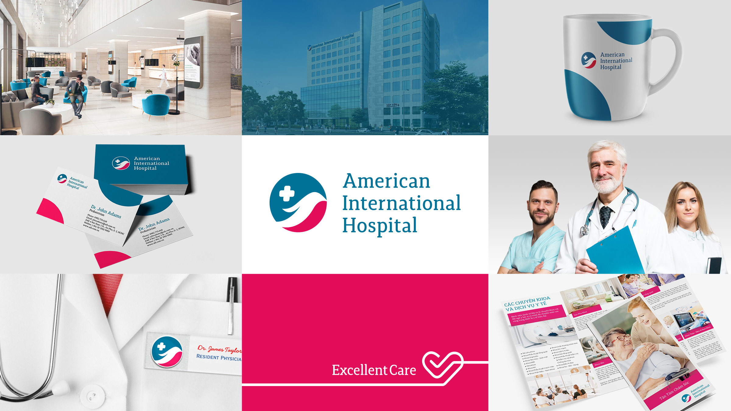 Branding American International Hospital The Circle branding Partners
