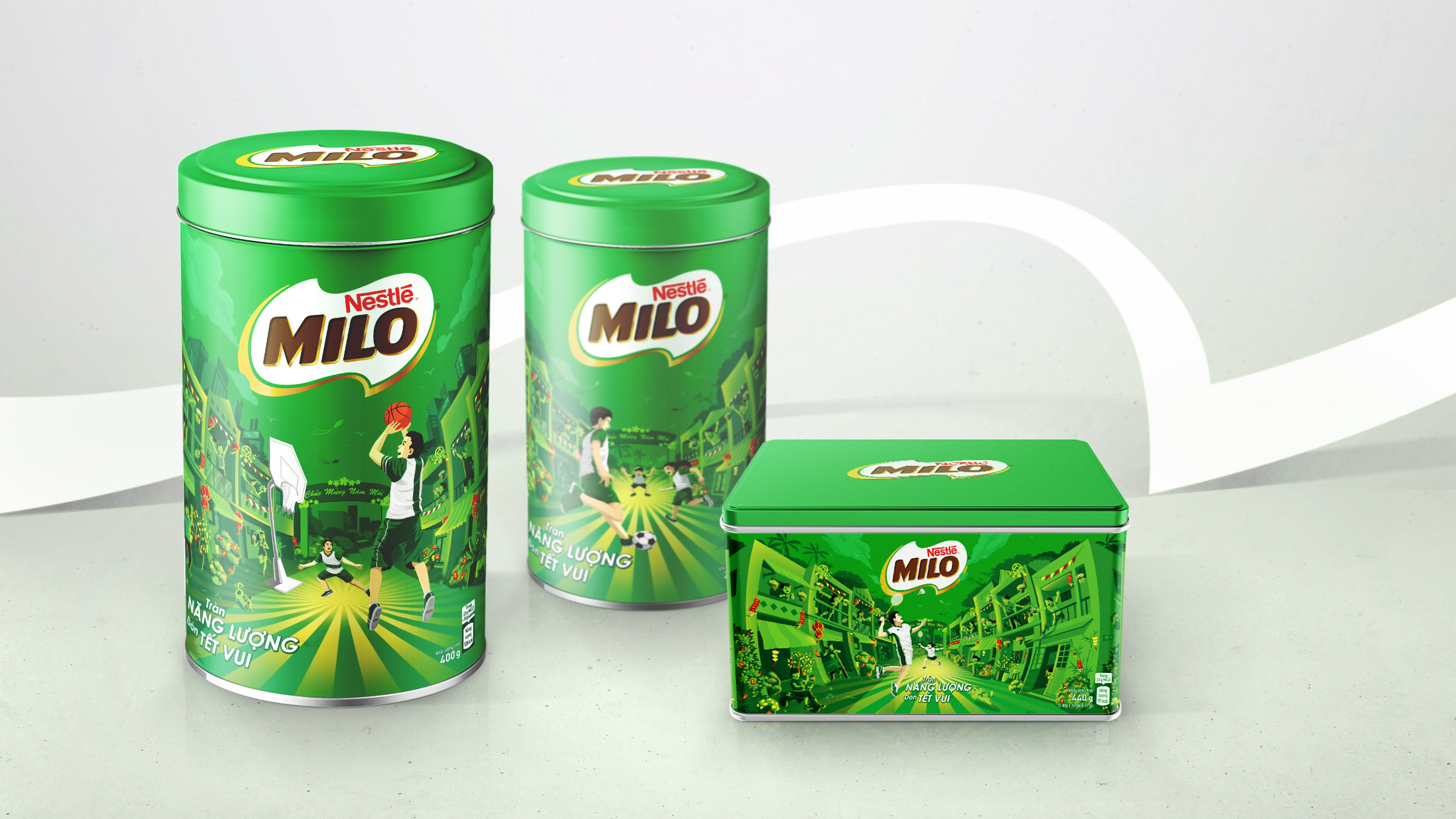 Circle Branding Partners MILO Special Edition Packaging Design Tet New Year #circlebranding