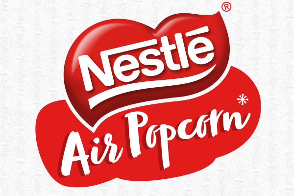 The Circle Branding Partners Nestle Air Popcorn Packaging Design