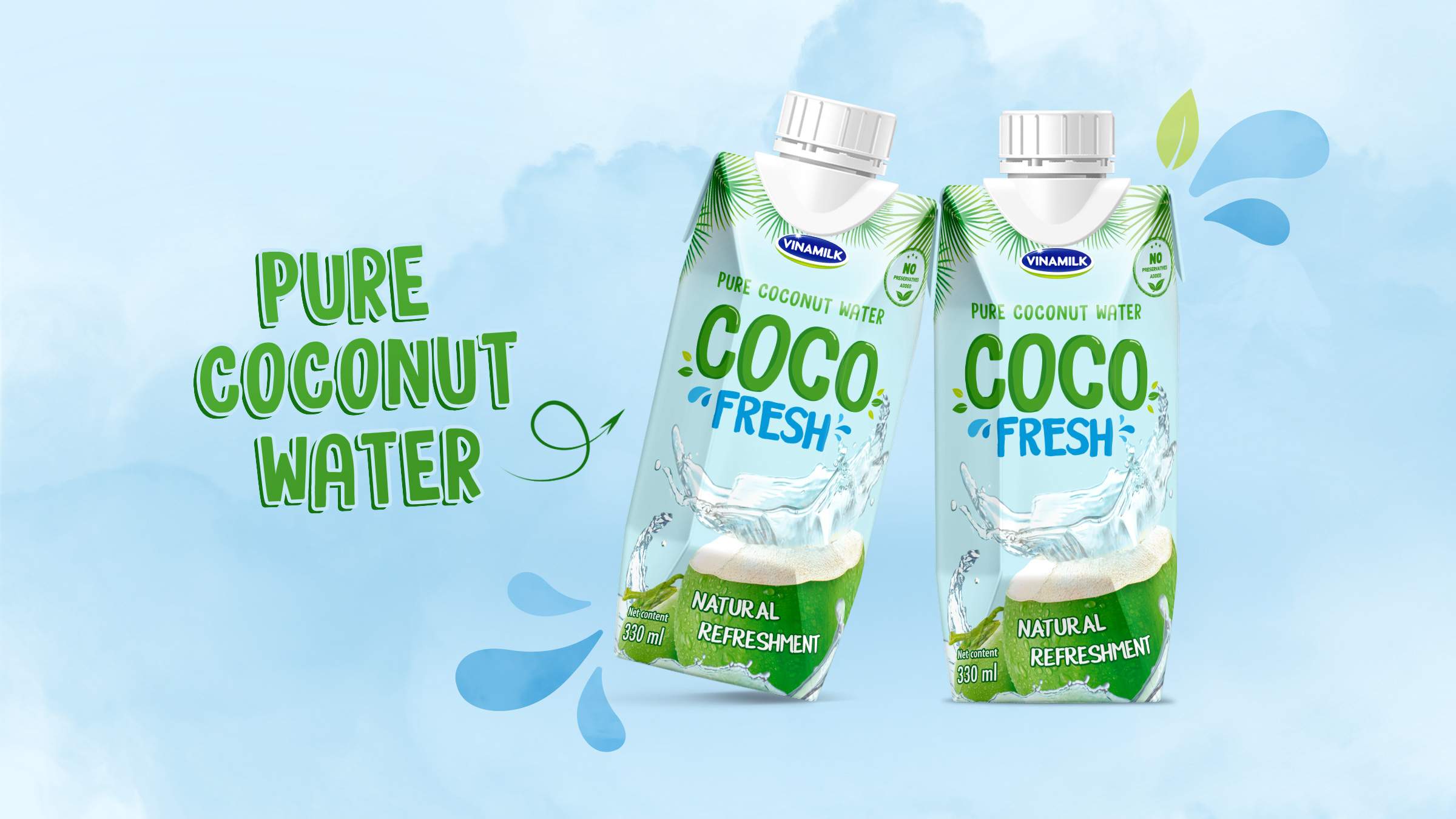 Coconut Water Packaging Design The Circle Branding Partners #circlebranding
