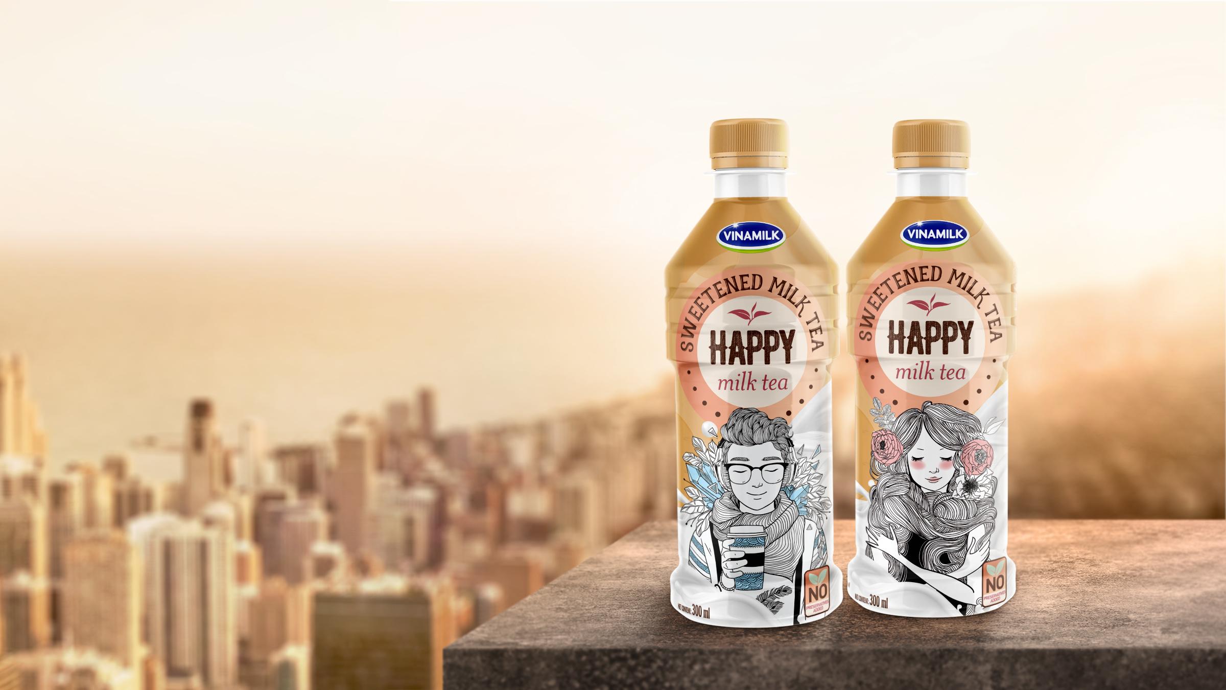 Milk Tea Packaging Design The Circle Branding Partners #circlebrandlife